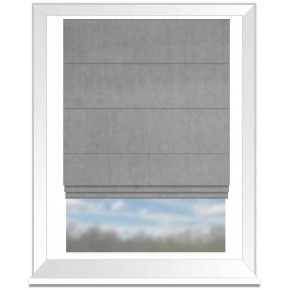 Clarke and Clarke Alvar Mist Roman Blind