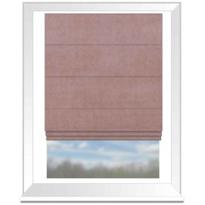Clarke and Clarke Alvar Rose Roman Blind