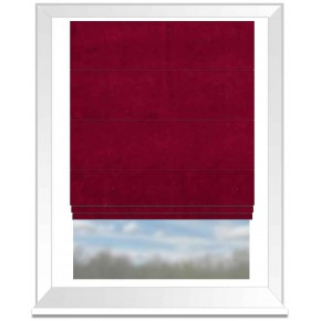Clarke and Clarke Gustavo Alvar Ruby Roman Blind