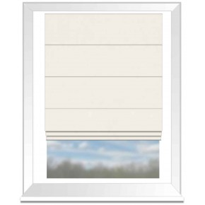 Clarke and Clarke Alvar Snow Roman Blind