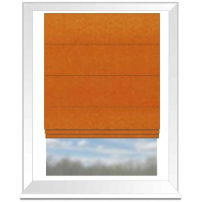 Clarke and Clarke Gustavo Alvar Sunset Roman Blind
