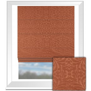 Prestigious Textiles Devonshire Ashburton Paprika Roman Blind