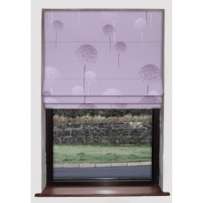 Clarke and Clarke Astrid Heather Roman Blind