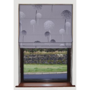 Clarke and Clarke Astrid Taupe Roman Blind
