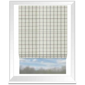 Clarke and Clarke Glenmore Aviemore Flannel Roman Blind