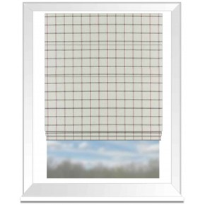 Clarke and Clarke Glenmore Aviemore Heather Roman Blind