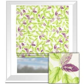 Prestigious Textiles Pickle Bayleaf Lavender Roman Blind