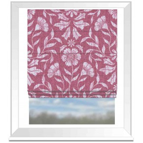 Avebury Berkeley Raspberry Roman Blind