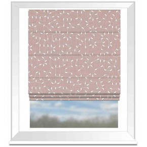 Avebury Bibury Heather Roman Blind