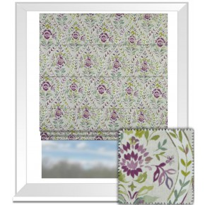 Prestigious Textiles Ambleside Buttermere Hollyhock Roman Blind