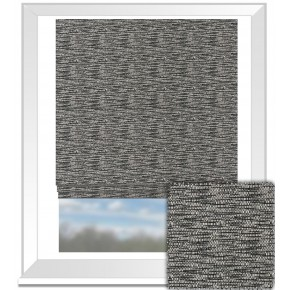 Clarke and Clarke BW1001 Black and White Roman Blind