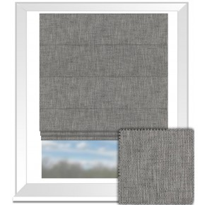 Clarke and Clarke BW1003 Black and White Roman Blind