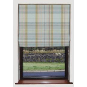 Prestigious Textiles Highlands Cairngorm Duckegg Roman Blind