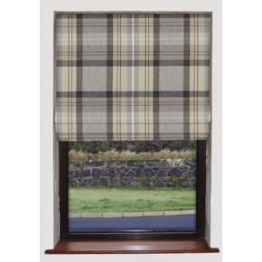Prestigious Textiles Highlands Cairngorm Slate Roman Blind