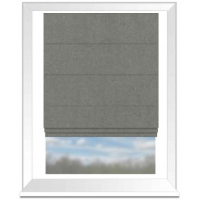 Clarke and Clarke Glenmore Caledonia Flannel Roman Blind