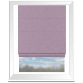 Clarke and Clarke Glenmore Caledonia Heather Roman Blind