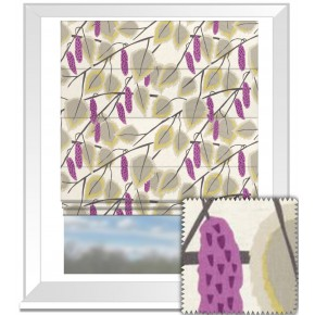 Clarke and Clarke La Vie Cannes Berry Roman Blind