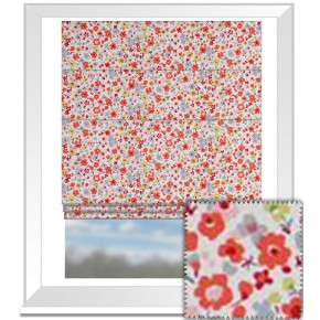 Clarke and Clarke Garden Party Confetti Multi Roman Blind