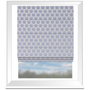 Clarke and Clarke Imperiale Duomo Chicory Roman Blind