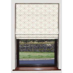 Clarke and Clarke Astrid Ebba Mineral Roman Blind