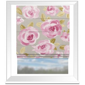 Clarke and Clarke Folia Elodie Summer Roman Blind