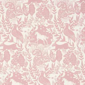 Clarke and Clarke Blighty Westonbirt Rose Curtain Fabric