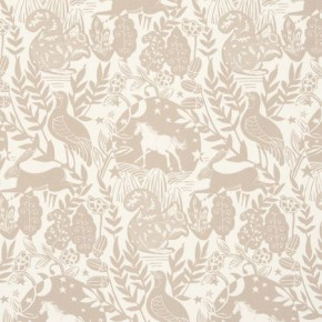 Clarke and Clarke Blighty Westonbirt Taupe Curtain Fabric
