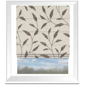 Avebury Fairford Charcoal Roman Blind