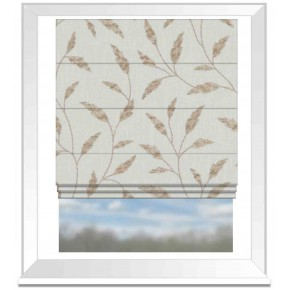 Avebury Fairford Natural Roman Blind