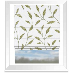 Avebury Fairford Olive Roman Blind