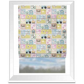 Farm_Yard_Roman_Blind