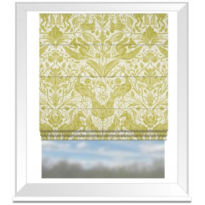 Country Garden Forest Trail Citrus Roman Blind