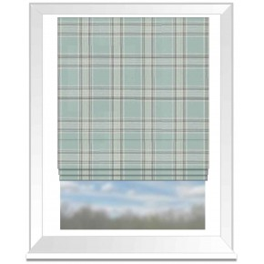 Clarke and Clarke Glenmore Clarke and Clarke Glenmore Duckegg Roman Blind