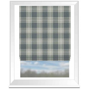 Clarke and Clarke Glenmore Clarke and Clarke Glenmore Flannel Roman Blind
