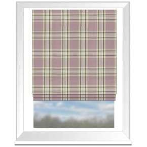 Clarke and Clarke Glenmore Clarke and Clarke Glenmore Heather Roman Blind