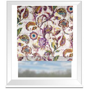 A Prestigious Textiles Decadence Grandeur Gemstone Roman Blind
