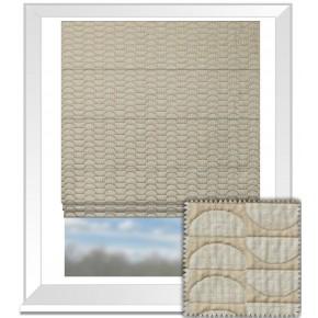 Prestigious Textiles Perception HalfMoon Praline Roman Blind