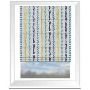 Prestigious Textiles Annika Heidi Marine Roman Blind
