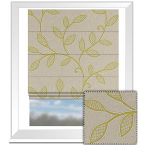 Clarke and Clarke Richmond Hetton Acacia Roman Blind