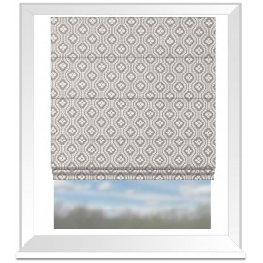 Clarke and Clarke Chateau Hugo Linen Roman Blind