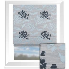 Prestigious Textiles Eden Hydrangea Bluebell Roman Blind