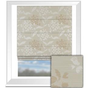 Prestigious Textiles Eden Hydrangea Oyster Roman Blind