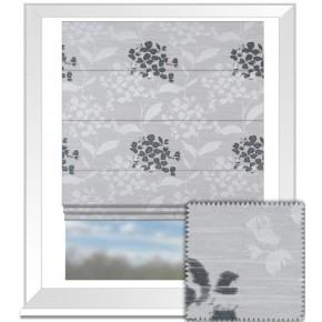 Prestigious Textiles Eden Hydrangea Sterling Roman Blind