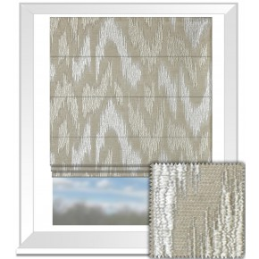 Prestigious Textiles Perception Ikat Linen Roman Blind