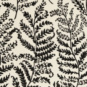 Clarke and Clarke Wild Garden Wild Fern Charcoal Curtain Fabric