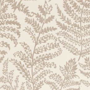Clarke and Clarke Wild Garden Wild Fern Natural Made to Measure Curtains
