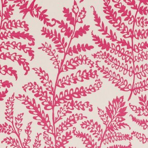 Clarke and Clarke Wild Garden Wild Fern Raspberry Made to Measure Curtains