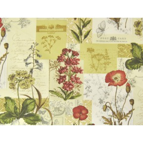 Novelty Wild Flower Cinnamon Made to Measure Curtains