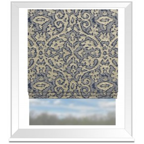 Clarke and Clarke Imperiale Chicory Roman Blind