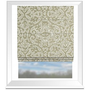 Clarke and Clarke Imperiale Linen Roman Blind